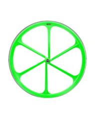 6 Spoke Neon Green