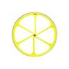 6 Spoke Neon Yellow